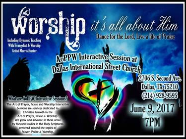 AoPPW Interactive Session at Dallas International Street Church!